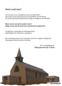 actie kerktoren